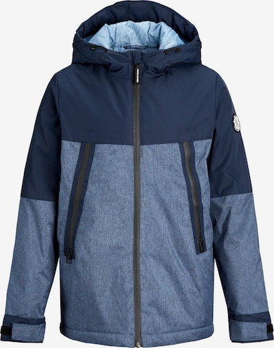 Jack & Jones Junior Winterjacke in nachtblau / blue denim / hellblau, Produktansicht