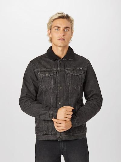 JACK & JONES Jacke 'JEAN ' in black denim, Modelansicht