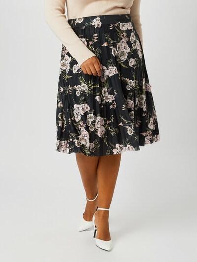 ABOUT YOU Curvy Suknja 'Elis Skirt' u miks boja / crna: Prednji pogled