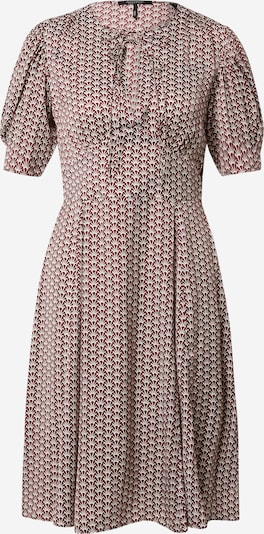 Rochie tip bluză 'Drapey' SCOTCH & SODA pe gri / roșu, Vizualizare produs
