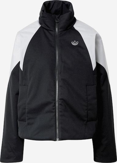 ADIDAS ORIGINALS Overgangsjakke i sort / hvid, Produktvisning