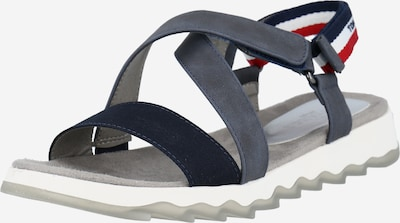 TOM TAILOR Trekking sandal in Navy / Red / White, Item view