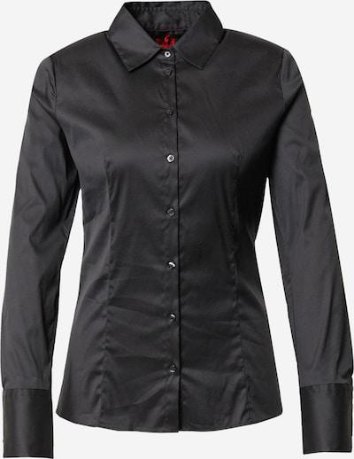 HUGO Bluse 'The Fitted Shirt' in schwarz, Produktansicht