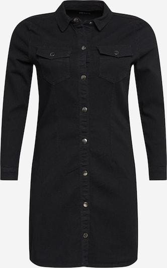 PIECES (Curve) Blousejurk 'Ilia' in de kleur Zwart, Productweergave