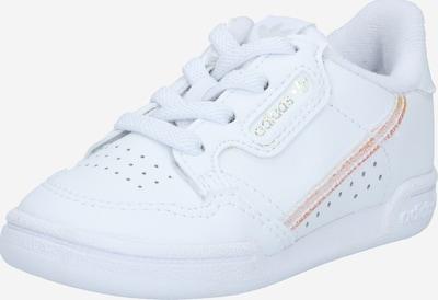 ADIDAS ORIGINALS Sneaker 'Continental 80' in orange / silber / weiß, Produktansicht