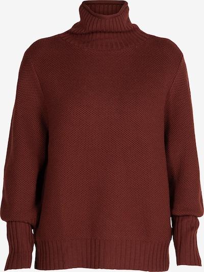 ICEBREAKER Athletic Sweater 'Seevista' in Dark brown, Item view