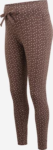 Esprit Maternity Pidžaamapüksid, värv pruun