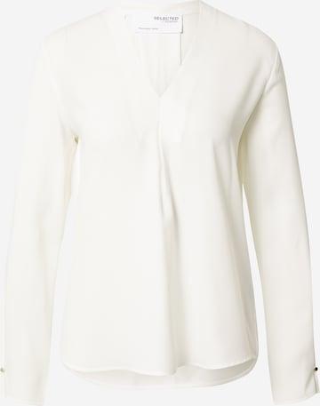 Camicia da donna 'LUNA' di SELECTED FEMME in bianco
