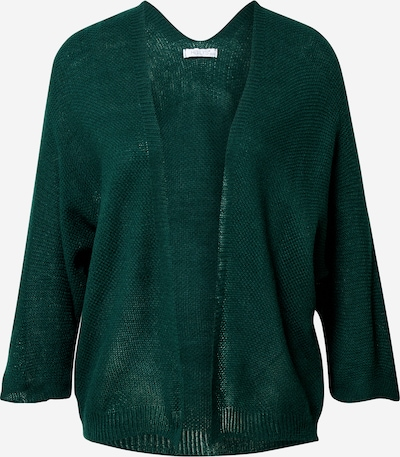 Hailys Gebreid vest 'Verena' in de kleur Donkergroen, Productweergave