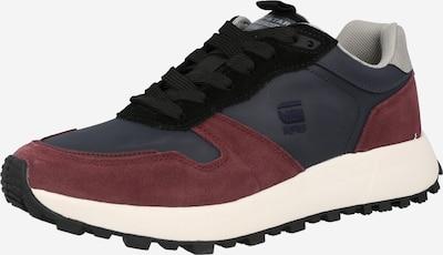 G-Star RAW Sneaker in navy / karminrot, Produktansicht