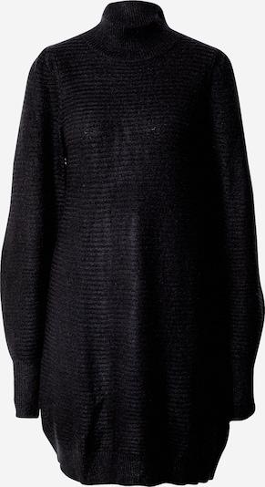 Funky Buddha Gebreide jurk in de kleur Zwart, Productweergave