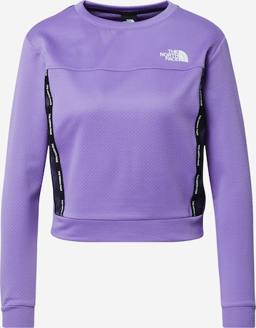THE NORTH FACE Athletic Sweatshirt 'Mountain Athletics' in Purple