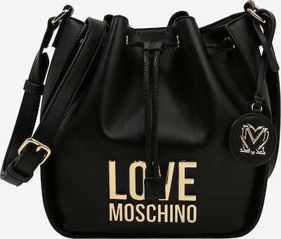 Geantă tip sac Love Moschino pe negru, Vizualizare produs