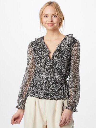 Bluză NEW LOOK pe maro / negru / alb, Vizualizare model