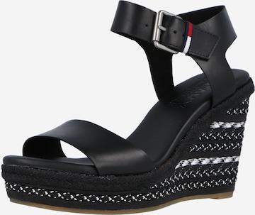 Tommy Jeans Sandale in Schwarz