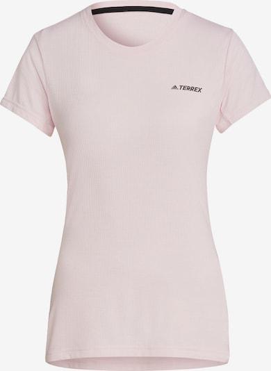 adidas Terrex Shirt in rosa / schwarz, Produktansicht