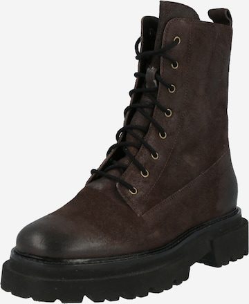 ABOUT YOU Stiefelette 'Maike' in Braun
