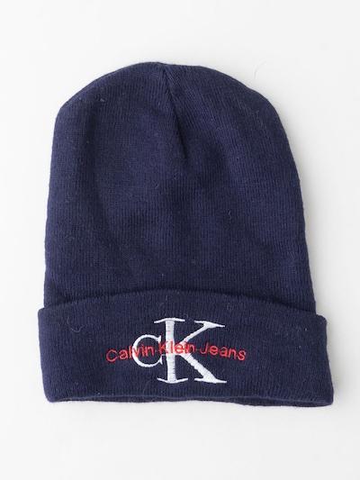 Calvin Klein Mütze in XXL in royalblau, Produktansicht