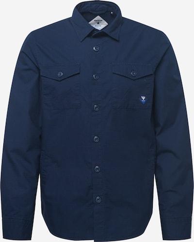 Barbour Beacon Overhemd 'Foundry' in de kleur Navy, Productweergave