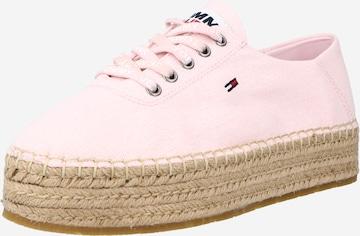 Tommy Jeans Espadrillid, värv roosa