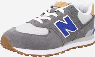 Sneaker new balance pe albastru regal / maro deschis / gri fumuriu / alb, Vizualizare produs