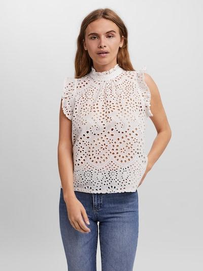 VERO MODA Bluse 'Rola' in weiß, Modelansicht