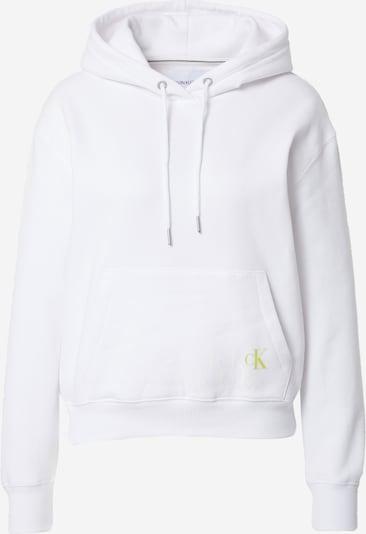 Calvin Klein Jeans Mikina 'Back Monogram Graphic' - zlatá / biela, Produkt