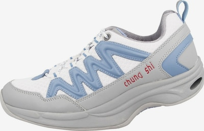 CHUNG SHI Sneaker 'Balance Step' in hellblau / hellgrau / rot / weiß, Produktansicht