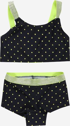 NAME IT Bikini 'Zeleste' en bleu marine / vert fluo, Vue avec produit