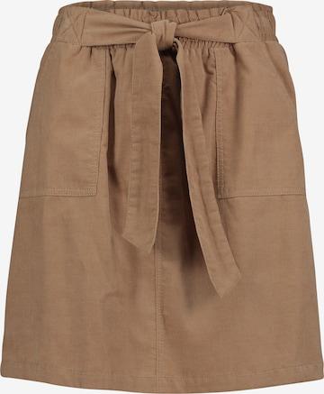 Cartoon Skirt in Brown