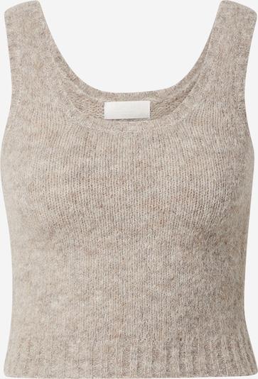 LeGer by Lena Gercke Tops en tricot 'Martha' en beige chiné, Vue avec produit