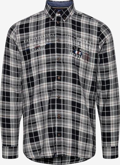 FQ1924 Langarmhemd 'Thorvid' in schwarz, Produktansicht