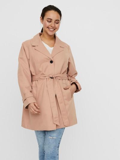 rózsaszín Vero Moda Curve Átmeneti kabátok 'Madison Donna', Modell nézet