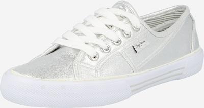 Sneaker low 'ABERLADY SHINE' Pepe Jeans pe argintiu, Vizualizare produs