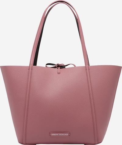 ARMANI EXCHANGE Shopper en rosé / negro, Vista del producto