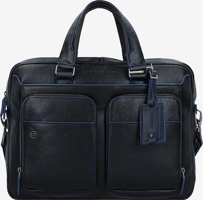 Piquadro Aktentas in de kleur Blauw / Zwart, Productweergave