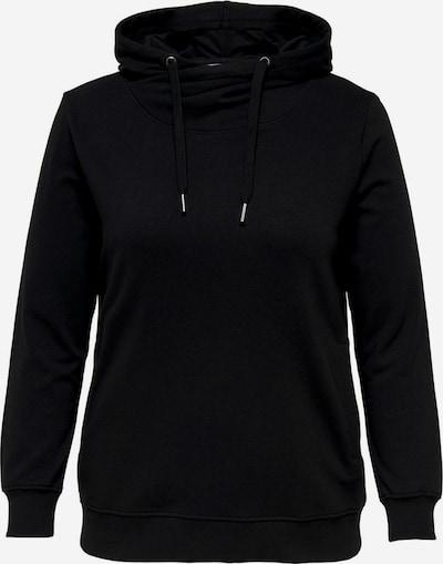 ONLY Carmakoma Sweatshirt in schwarz, Produktansicht