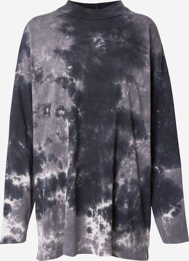 Free People Тениска 'BE FREE' в сиво / черно, Преглед на продукта