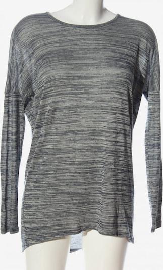 VERO MODA Longpullover in XS in hellgrau / schwarz, Produktansicht