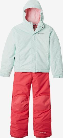 COLUMBIA Schneeanzug in mint / rot, Produktansicht