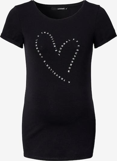 Supermom T-Shirt in schwarz / weiß, Produktansicht