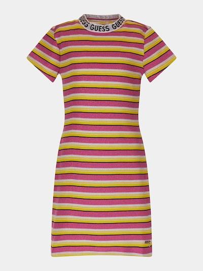 GUESS KIDS Kleid in gelb / rot / weiß, Produktansicht