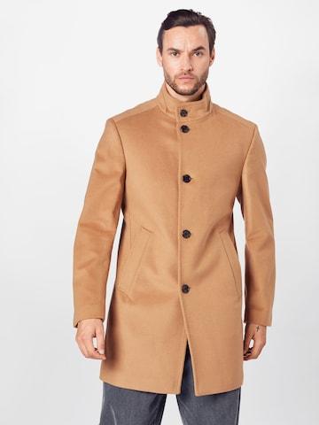 JOOP! Between-seasons coat 'Maron' in Brown