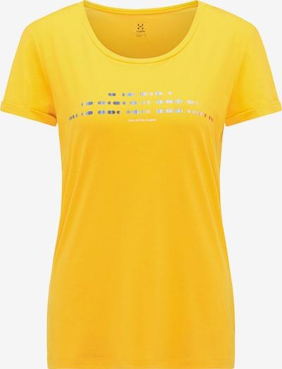 Haglöfs Functioneel shirt 'Ridge Hike' in de kleur Navy / Lichtblauw / Geel / Rood, Productweergave