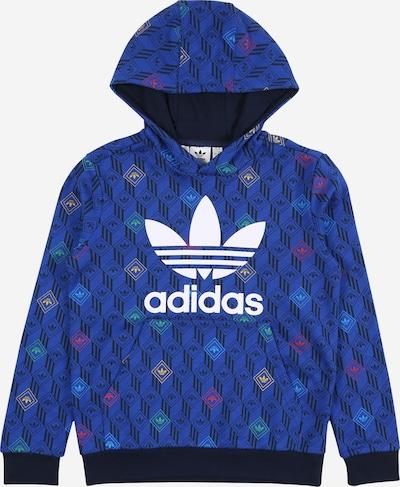 ADIDAS ORIGINALS Sweatshirt in blau / dunkelblau / hellgrün / weiß, Produktansicht