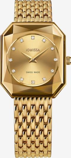 JOWISSA Analoog horloge 'FACET RADIANT' in de kleur Goud, Productweergave