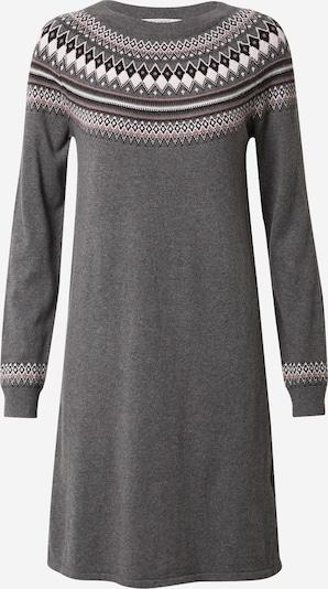 ESPRIT Kootud kleit tumehall / segavärvid, Tootevaade