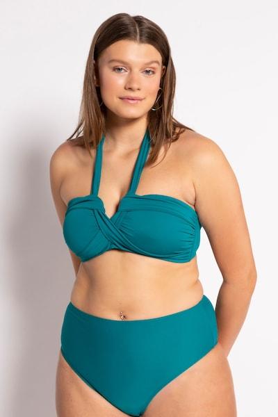 Studio Untold Bikinitop in de kleur Groen, Modelweergave