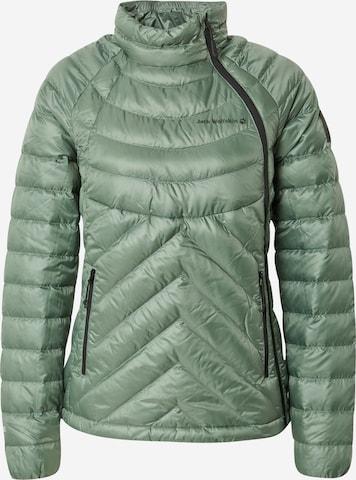 JACK WOLFSKIN Outdoor Jacket 'ATHLETIC' in Green