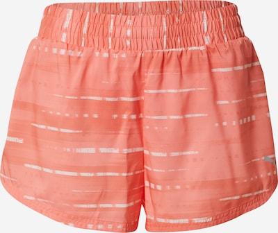 Pantaloni sport PUMA pe portocaliu piersică / alb, Vizualizare produs